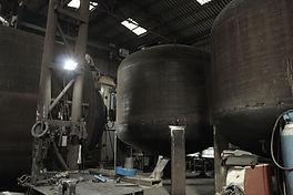 distillation tank