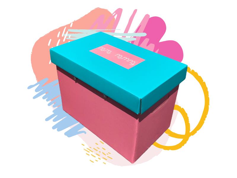 MuMu Mummy's Confinement Herbs in the Signature Pink & Blue Box