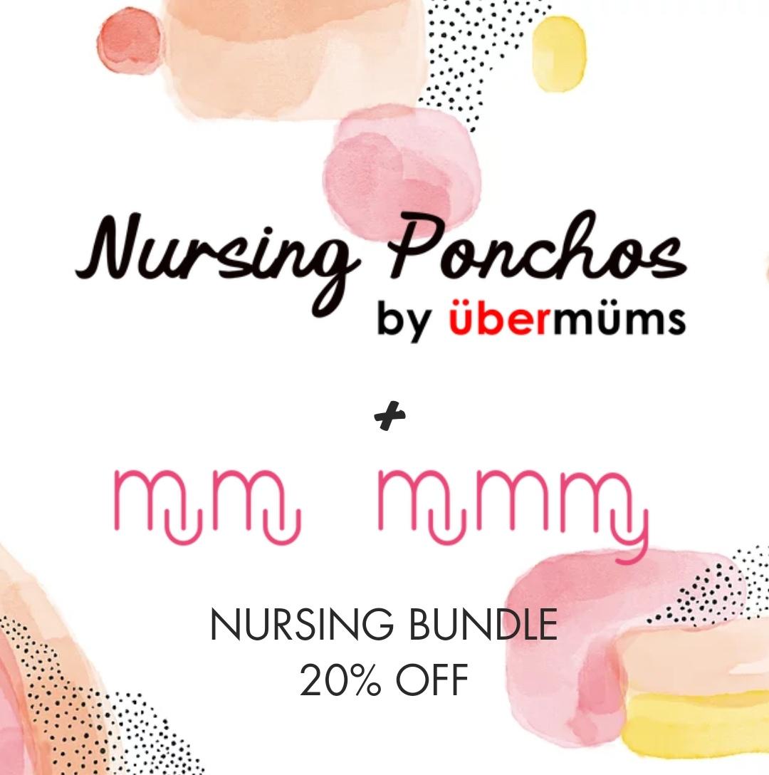 MuMu Mummy and Ubermums Nursing Poncho and Lactations Herbal Tea