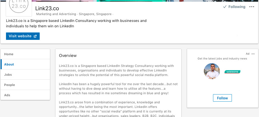 LinkedIn Company Pages are Useless...?