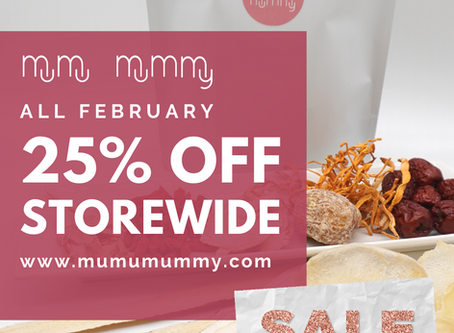 25% OFF Storewide for February - Support Your Immunity