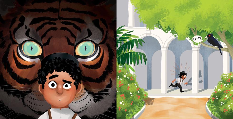 The Tiger at The Raffles