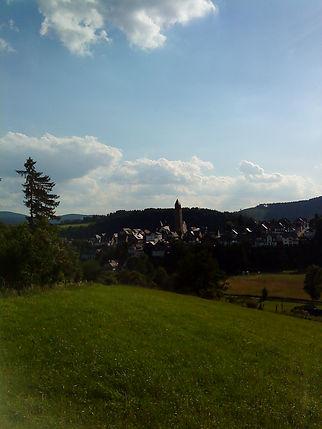 Blick auf Schmallenberg vom Aberg