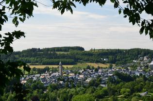 Ausblick auf Schmallenberg