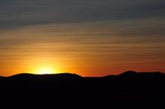 Sonnenuntergang bei Ebbinghof