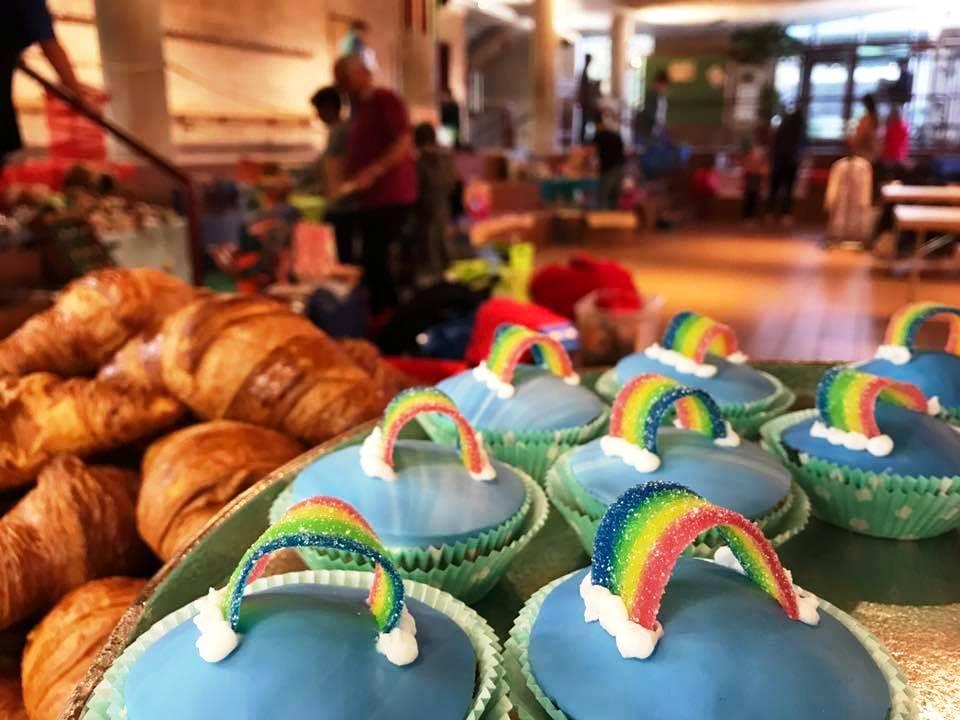 Raegeboge-Cupcakes