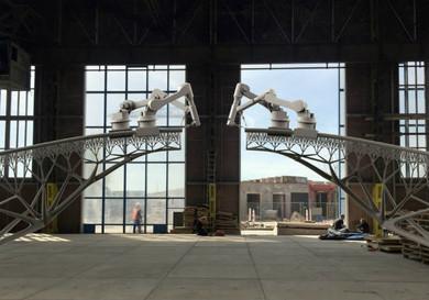 Robots capaces de imprimir  estructuras 3D