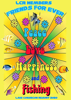 Love Peace Happiness Fishing Fish Friend