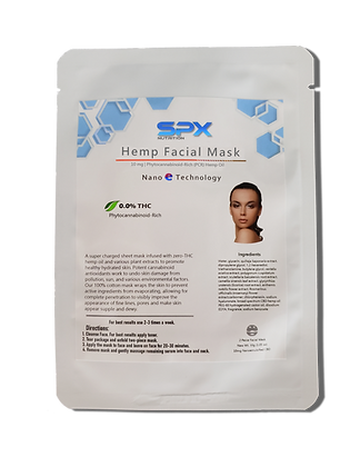 Hemp Oil Facial Mask