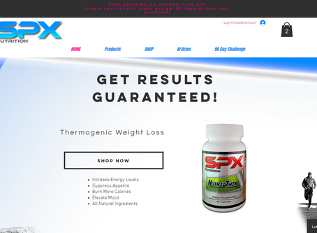 SPX Nutrition - Launch of New interactive website