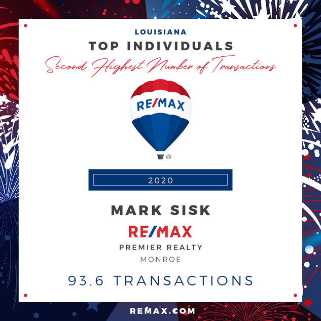 MARK SISK TOP INDIVIDUALS BY TRANSACTION