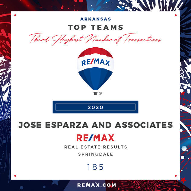 Jose Esparza and Associates Top Teams by
