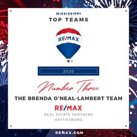 The Brenda O'Neal-Lambert Team Top Teams