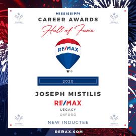JOSEPH MISTILIS Hall of Fame Award.jpg