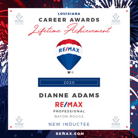 DIANNE ADAMS Lifetime Achievement Award.