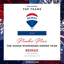 The Susan Woodward-Owens Team Top Teams.
