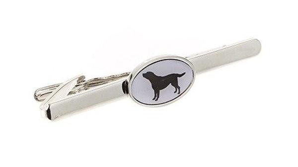 Black Labrador Tie Pin