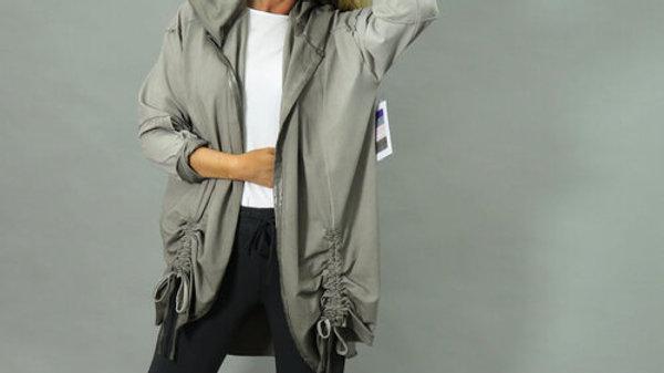 d.e.c.k Clothing Cotton Vintage Dye Jacket With Hood