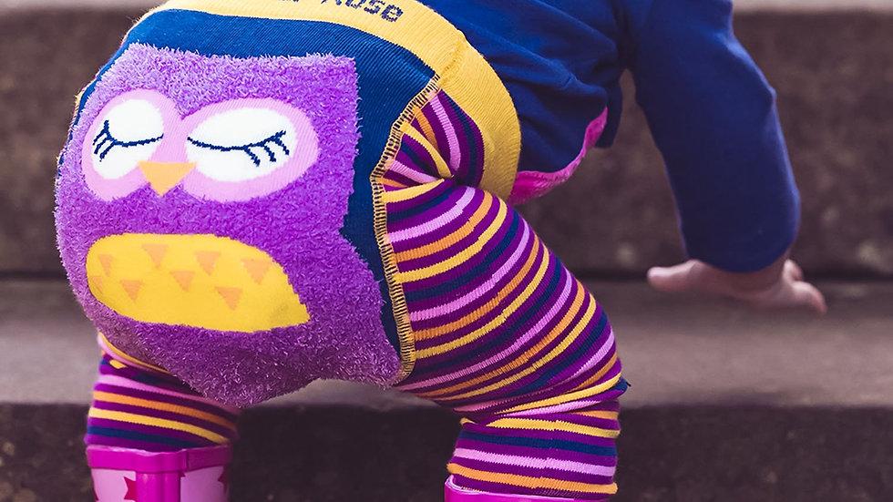 Betty Owl Knitted Leggings