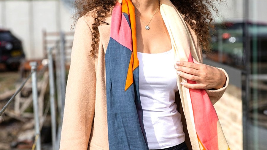 Abstract Colourful Scarf