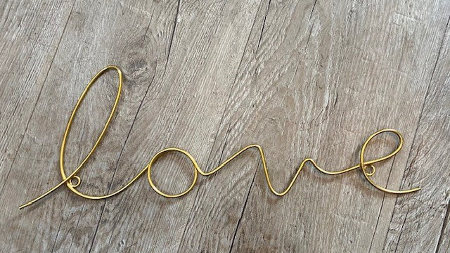 Gold Wire Sentiments