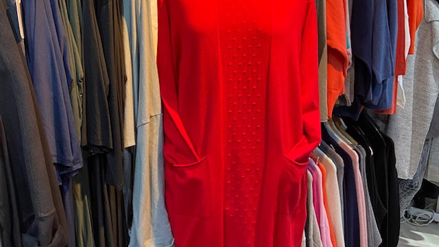Soft Jumper Tunic with Front Detail