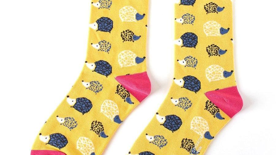 Hedgehogs Bamboo Socks