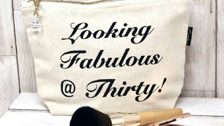 Looking Fabulous @30 Make Up Bags
