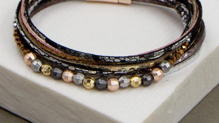 Multi Coloured Narrow Band Cuff