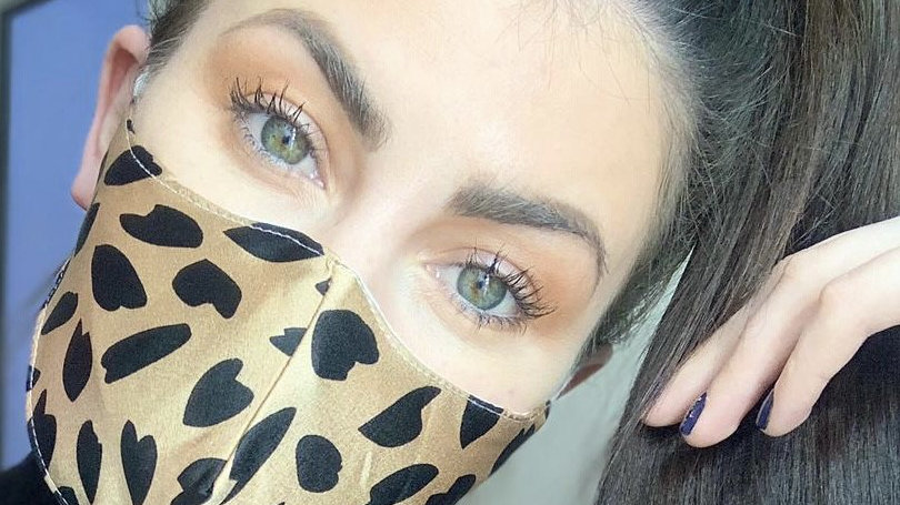 Silky Animal Print Face Coverings