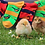 Thumbnail: Mens Cotton Gaming Bird Pheasant Ankle Socks