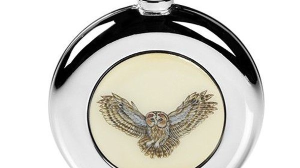 Owl Hip Flask