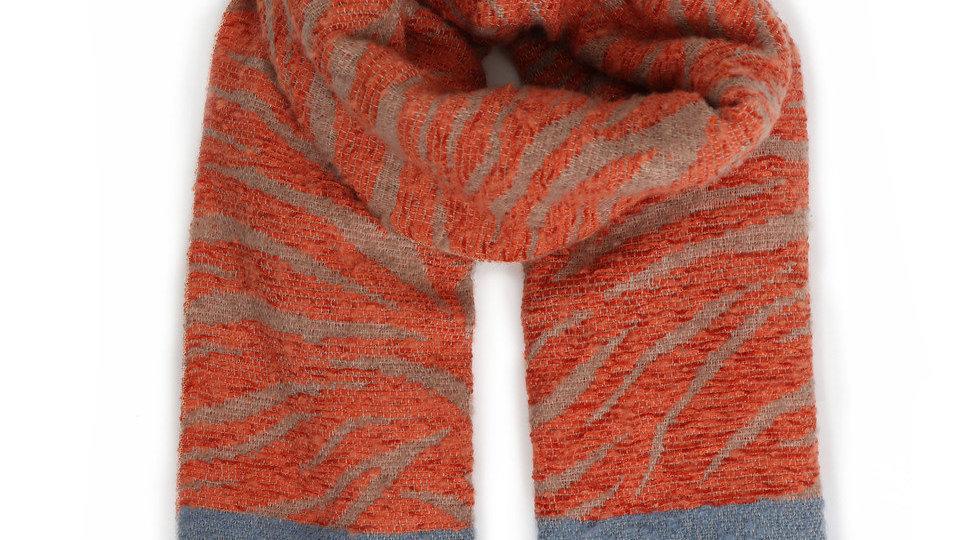 Tangerine Winter Scarf