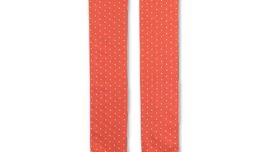 Tangerine Stag Long Sock