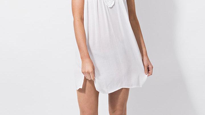 White Crochet Tunic/Dress