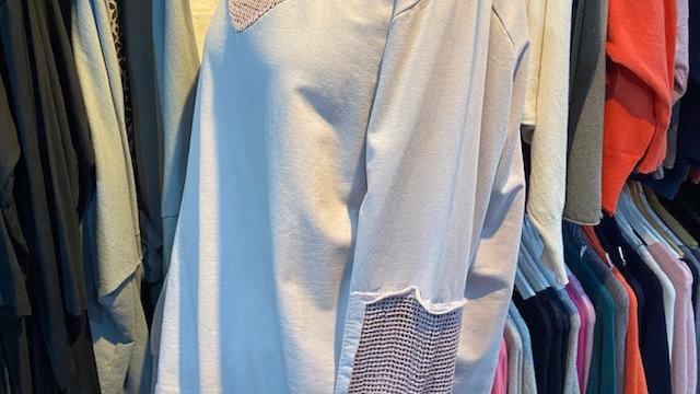 d.e.c.k Clothing Pink Sparkle Sweat
