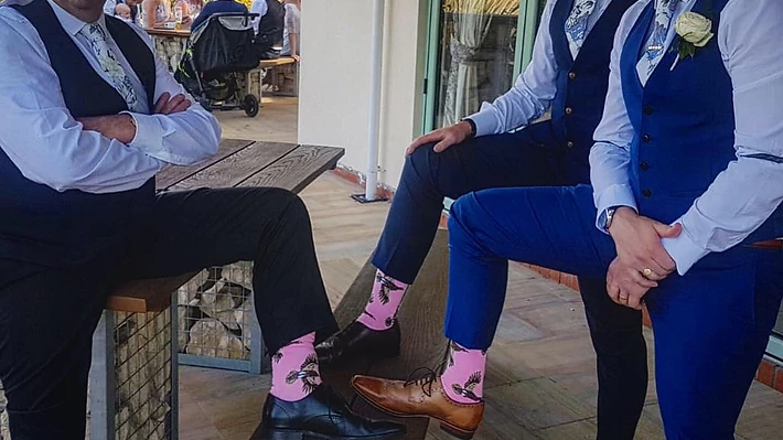 Mens Cotton Game Bird Grouse Ankle Socks