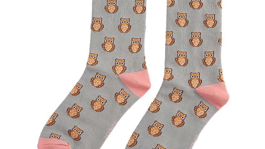 Owls Bamboo Socks