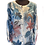 Thumbnail: d.e.c.k Clothing Beautiful Teal and White Blouse with Cami