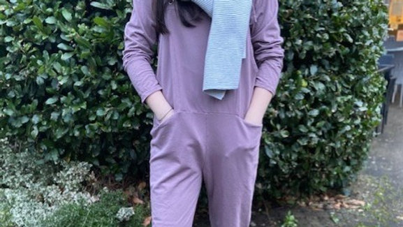 Cotton Sweater Dungarees and Matching Top