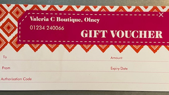 Gift Vouchers (Any amount)