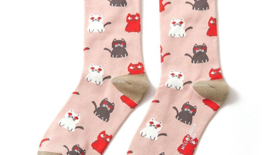 Cats Bamboo Socks