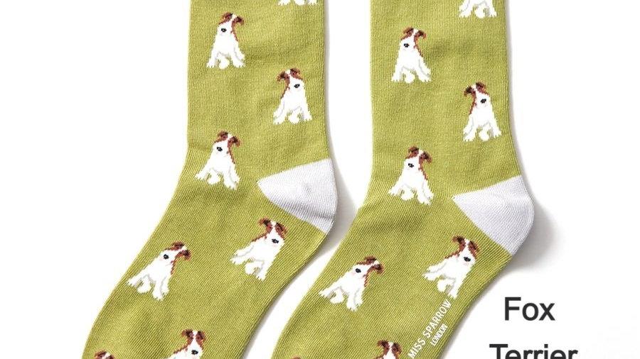 Bamboo Doggie Socks (various breeds)