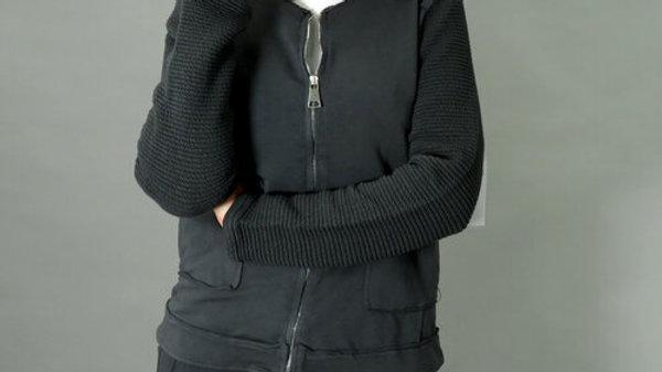 d.e.c.k Clothing Grey Zip Sweatshirt