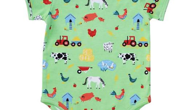 Luxury Baby Grow 'On The Farm'