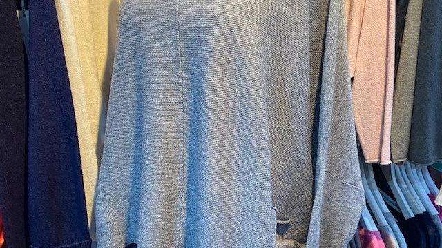 Shorter Length Front Pocket Knitted Jumper