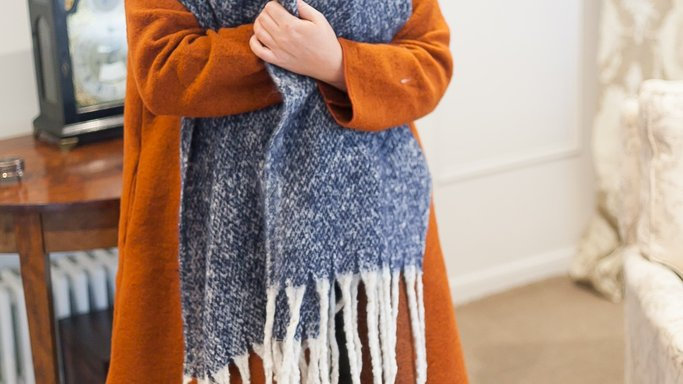 Sooper Soft Speckled Wrap/Scarf
