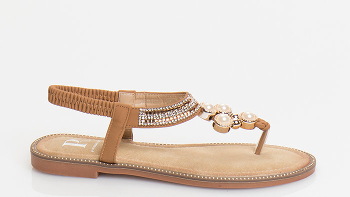 Ibiza Tan Thong Sandal