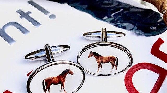 Horse Cuff Links