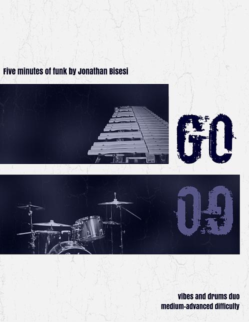 Go!, Jon Bisesi (Duet for Vibes and Kit)